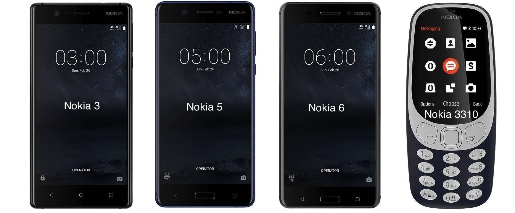 NOKIA HMD Smartphones