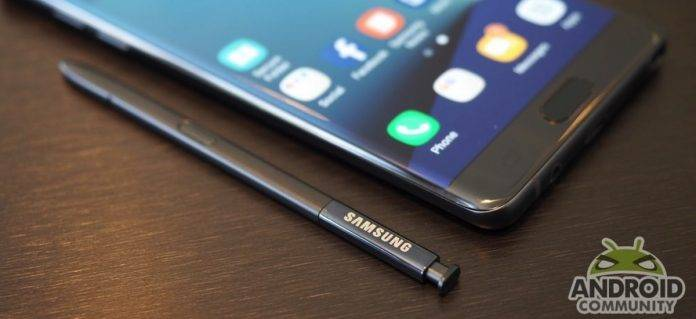 Recycle Samsung Galaxy Note 7