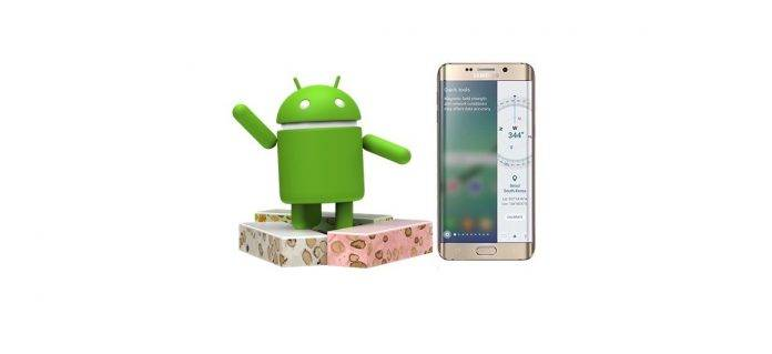 Samsung Galaxy S6 Android 7.0 Nougat