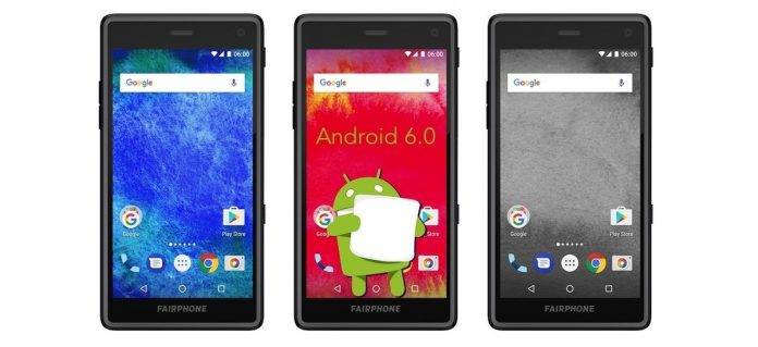 Android 6.0 Marshmallow Fairphone 2