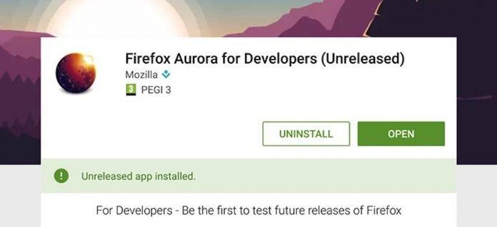 Firefox Aurora for Developers