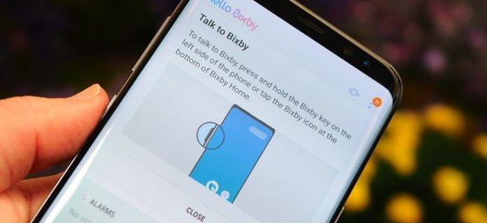 Call up Google Now instead of Bixby on the Galaxy S8's Bixby