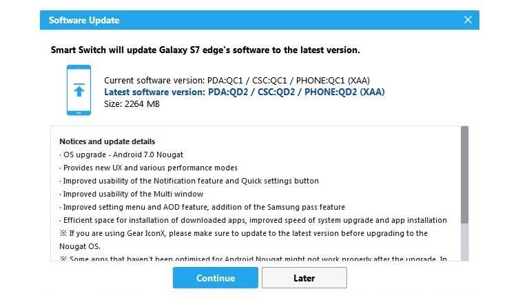 Smart Switch for Samsung Galaxy S7 Edge Unlocked