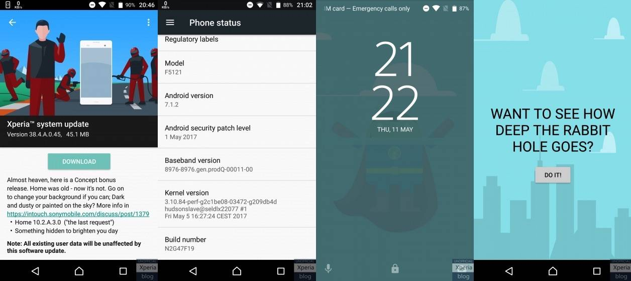 Sony releases bonus update for the Xperia X Concept software