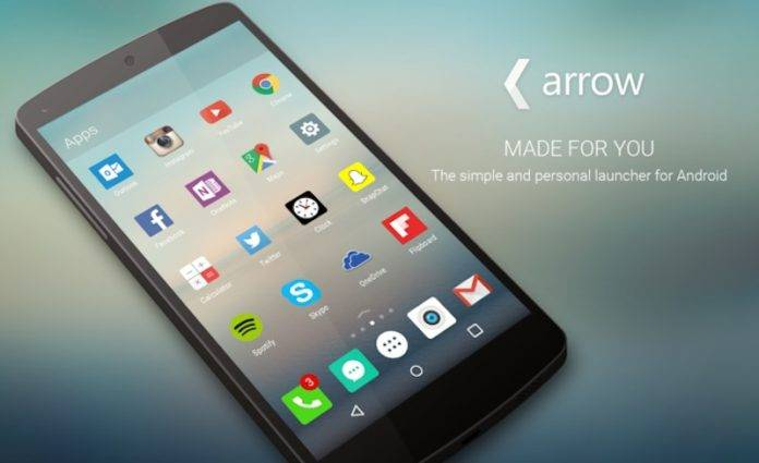 Arrow Launcher update brings notes, app shortcuts, password