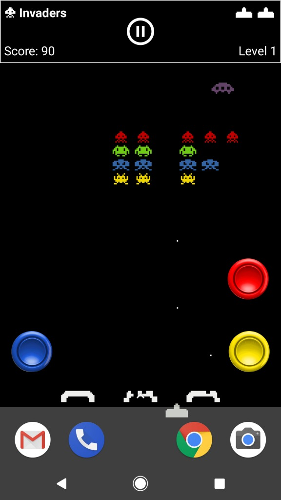 Android Experiments show Home Screen Arcade, playable ...