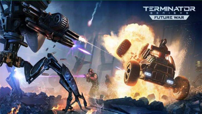 Terminator Genisys: Future War is a strategy game, you either save