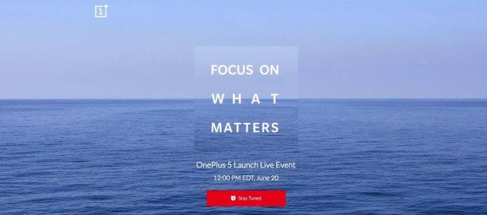 FOCUS ON WHAT MATTERS OnePlus 5