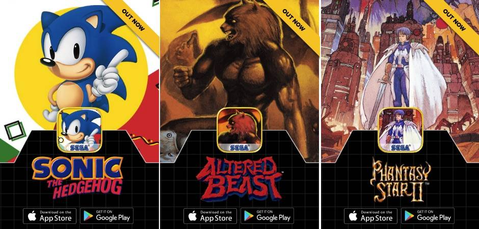 SEGA Forever brings the classic games to mobile for free