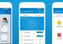 SmartThings Mobile Dashboard