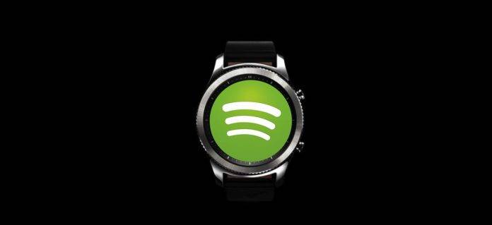 Spotify Samsung Gear S3