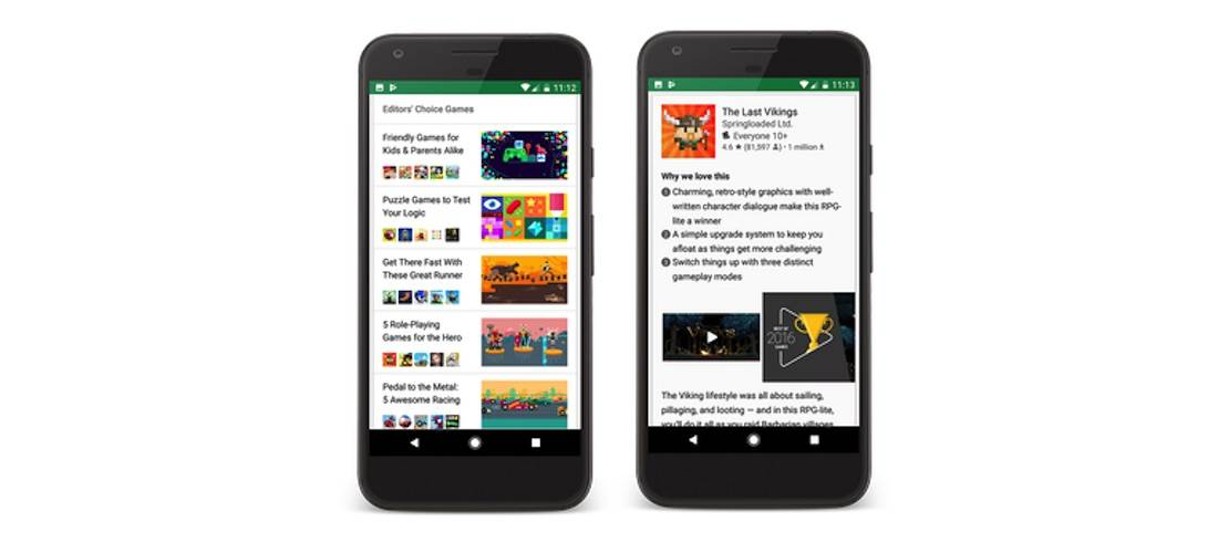 Google Play Store shares Editors' Choice list with new apps