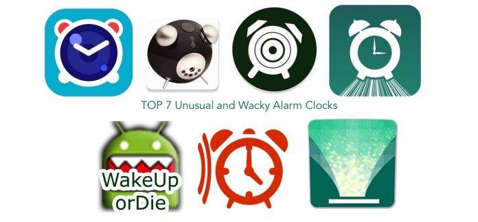 TOP 7 Unusual and Wacky Alarm Clocks for the Sleepyheads