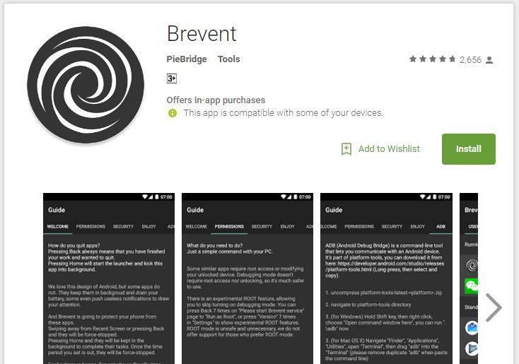 Brevent Is A No Root Alternative To Greenify Android Community