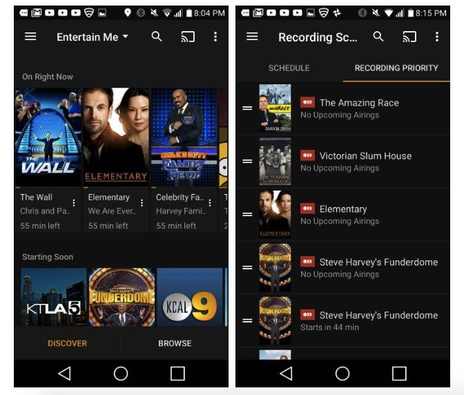 Plex Live TV hits Android, allows more control with time