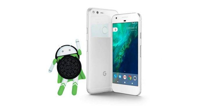 GOOGLE Pixel XL Android Oreo