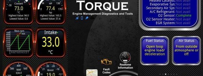 Torque Pro app launches as an OBD2 dashboard - Android Community