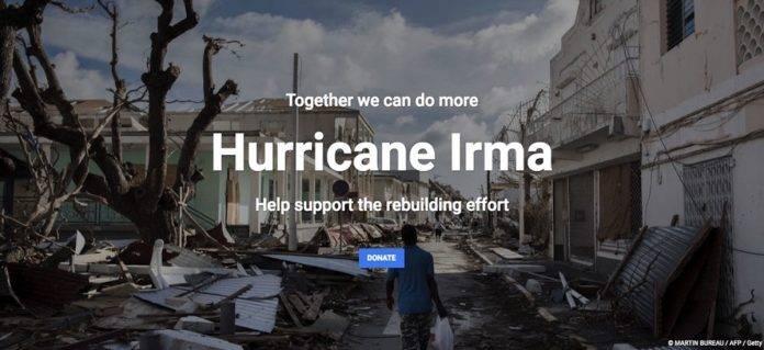 Google Hurricane Irma Effort