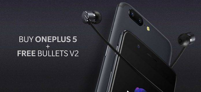 Buy a OnePlus 5 with 8GB RAM, 128 storage, get a pair of
