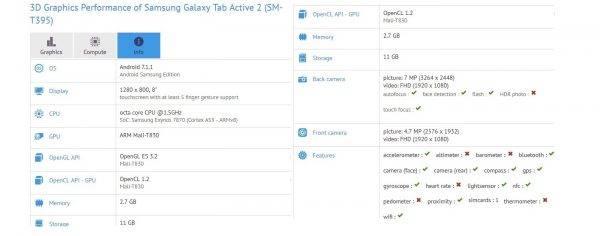 Samsung Galaxy Tab 2 SM-T395