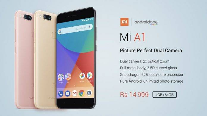XIAOMI Mi A1 Android One INDIA