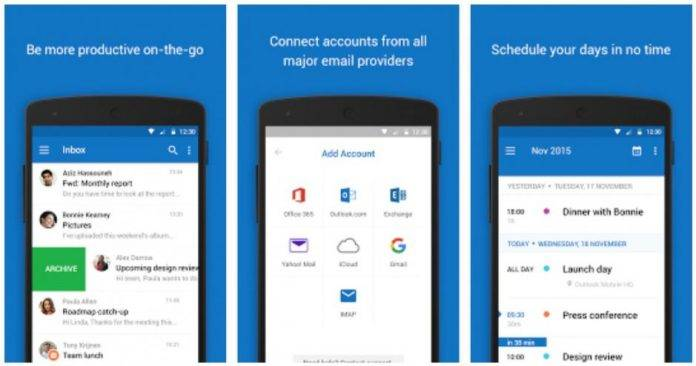 Outlook shared calendar now on Outlook Android app for