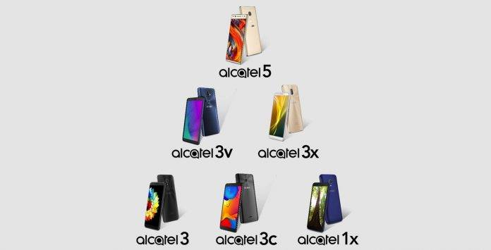 Alcatel 2018 top-tier lineup 2
