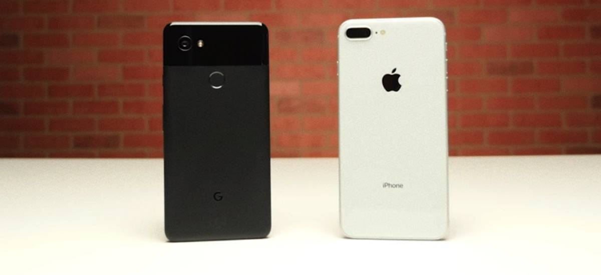 Drop Test: iPhone 8 Plus vs Google Pixel 2 XL - Android