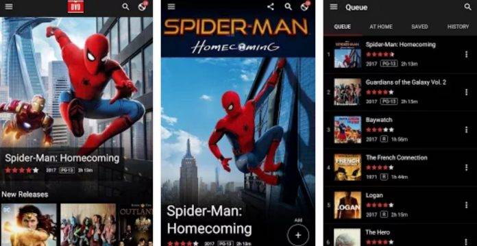 Netflix DVD app lets you queue up your DVD/Blu-Ray rentals - Android
