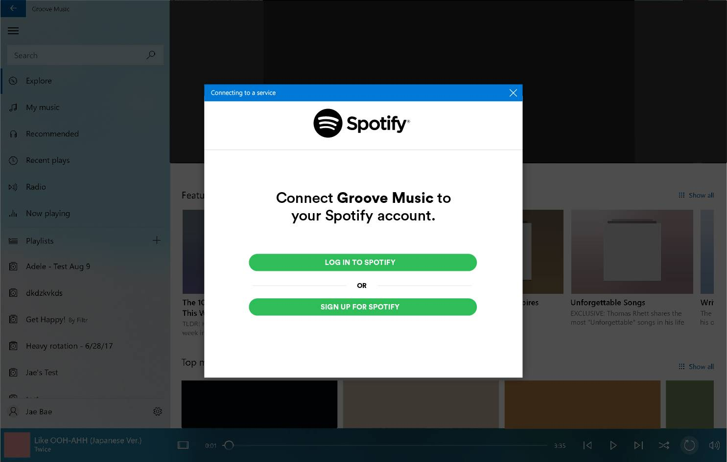 Microsoft to discontinue Groove Music, asks users to go to