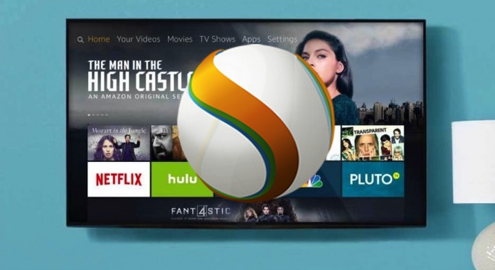 Amazon Fire TV Silk Browser