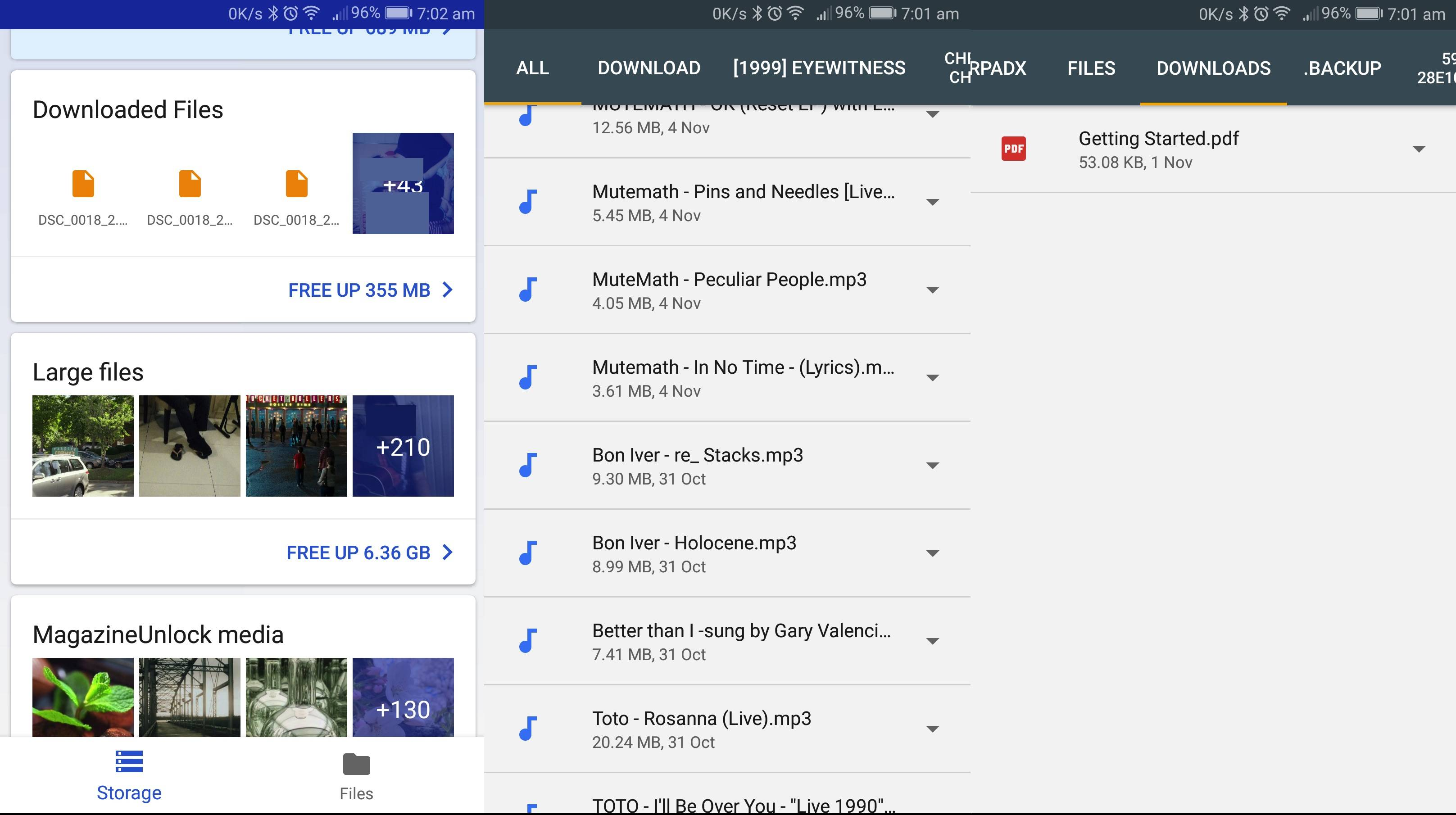 Google Files Go Review: Not too different but way better