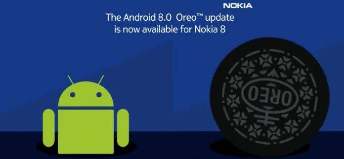 Oreo or Nokia 8 starts rolling out, beta for Nokia 5 and 6 ready