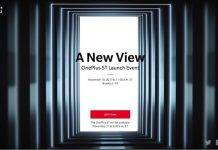 OnePlus 5T Launch Event November 16 2017