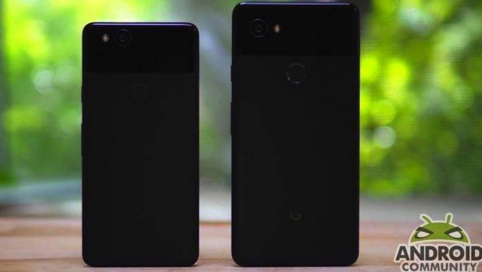 Google Pixel 2 Pixel 2 XL