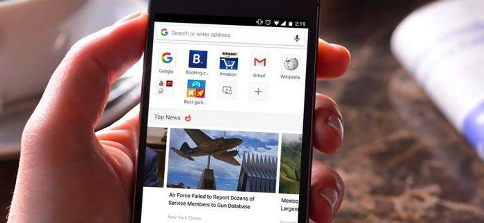 Opera browser for Android updated with new UI, reading mode, and