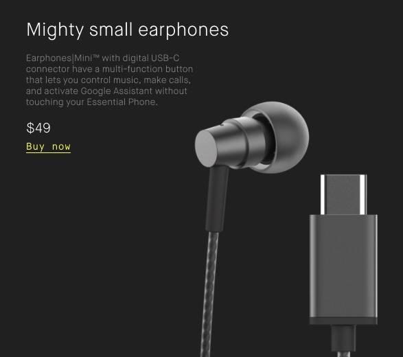 Essential Phone team begins selling smartphone accessories