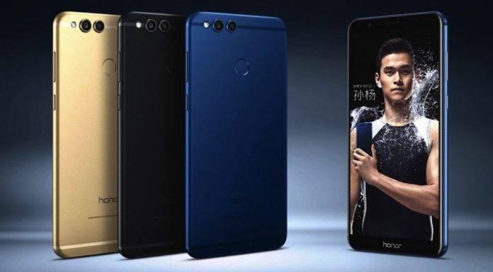Huawei Honor 7X Software Update