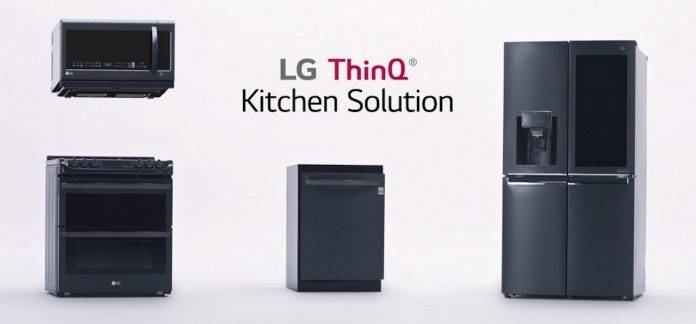 LG ThinQ Kitchen Solution CES 2018
