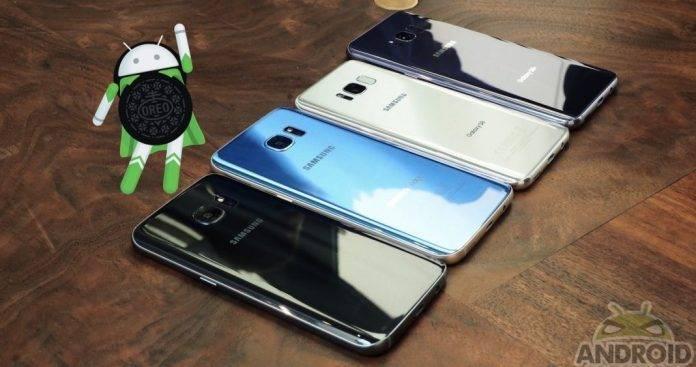 Android Oreo 8.0 Samsung Galaxy S8