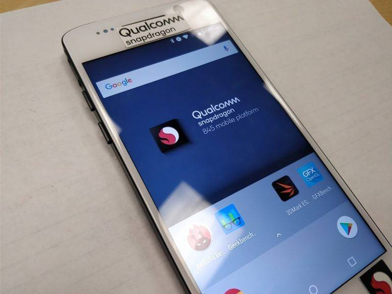 Qualcomm's Snapdragon 845 benchmarks show expected