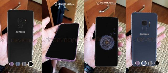 Samsung Galaxy S9 Augmented Reality