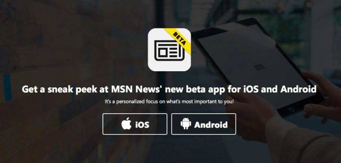 Microsoft launches beta of new MSN News app for Android