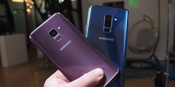 Samsung Galaxy S9 receives first software update - Android
