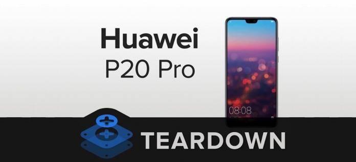 Huawei P20 Pro Teardown