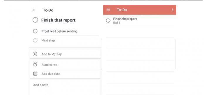 Microsoft To-Do app still getting ready to replace
