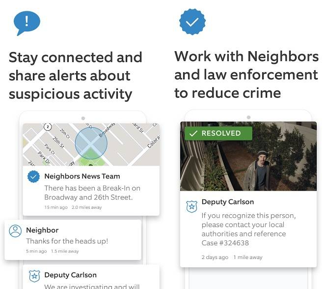 Ring launches Neighbors App to help stop burglaries, prevent