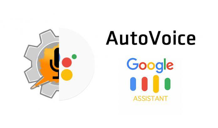 Tasker's AutoVoice will let you create a Google Assistant