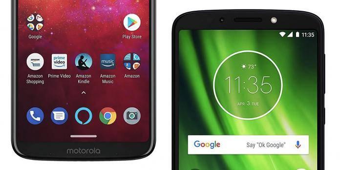 Amazon Prime Exclusive Moto Z3 Play Moto G6 Play