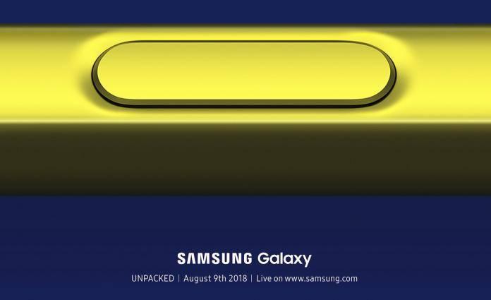 Samsung Galaxy Unpacked 2018 August 9